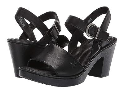 Born Willamette (Black Full Grain Leather) Women