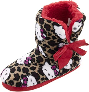 Image of Hello Kitty Bootie Slippers for Women