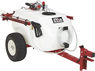 NorthStar Tow-Behind Trailer Boom Broadcast and Spot Sprayer - 41-Gallon Capacity, 4.0 GPM, 12V DC