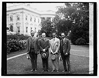 Photography Poster - E.B. Dickenson, Coolidge, M.M. Harris & W.E. Stewart, Kappa Alpha Psi, 6/16/26, Gloss finish, 24