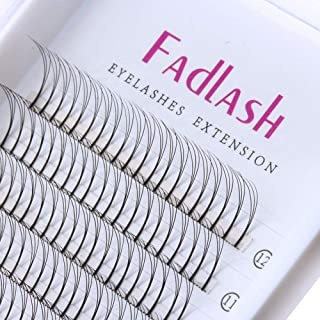 Volume Lash Extensions Premade Fans 3D/5D C/D Curl 0.10mm Individual Eyelashes Natural Rapid Cluster Lashes by FADLASH (3D-0.10-D, 11mm)