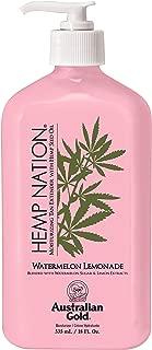 Hemp Nation Watermelon Lemonade Moisturizer 18 Oz