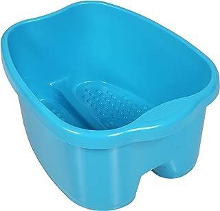 Milliard Extra Large Foot Soak Bath Tub Spa Basin Big Footbath Bucket & Soaker Bowl (FITS UP TO A MEN'S SIZE 12)