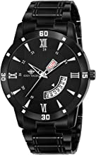 Eddy Hager Black Day and Date Men's Watch EH-256-BK