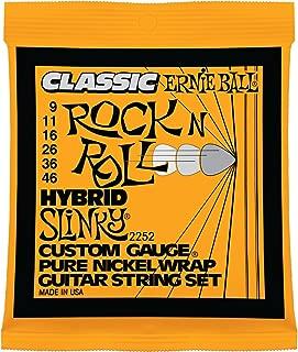 Ernie Ball Classic Pure Nickel Hybrid Slinky Set, .009 - .046