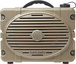 Turtlebox: Loud! Outdoor Rugged Bluetooth Speaker ~ Up to 50+ Hour Charge | IP67 Waterproof & Dustproof. (Plays up to 120d...