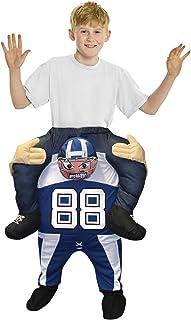 Morphsuits Footballer Piggyback Kids Costume,  One Size