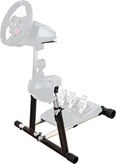 Wheel Stand Pro SuperG with RGS Shifter Mount Compatible with Logitech G29, G920 G27 G25 Wheels, Deluxe, Wheel and Pedals Not Included.