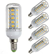 EMGQ Energiebesparende gloeilamp LED-lampen 12 Volt 6 Watt LED Gloeilamp, G9 / E12 / E14 / E27 12-80V Laagspanning, 6W Glo...