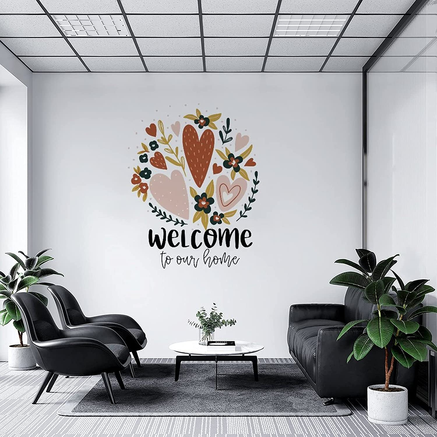 Wall Decal Welcome Max 69% OFF to Our Nursery Easy-to-use Bedroo Classroom Kitchen Home