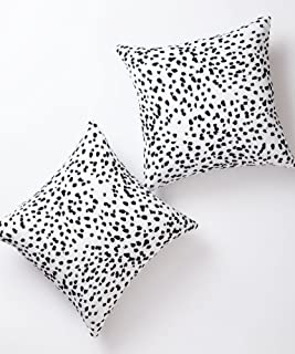Pantaknot Dalmatian Spots Decorative Throw Pillow Covers Set of 2 Cheetah Pillowcase..