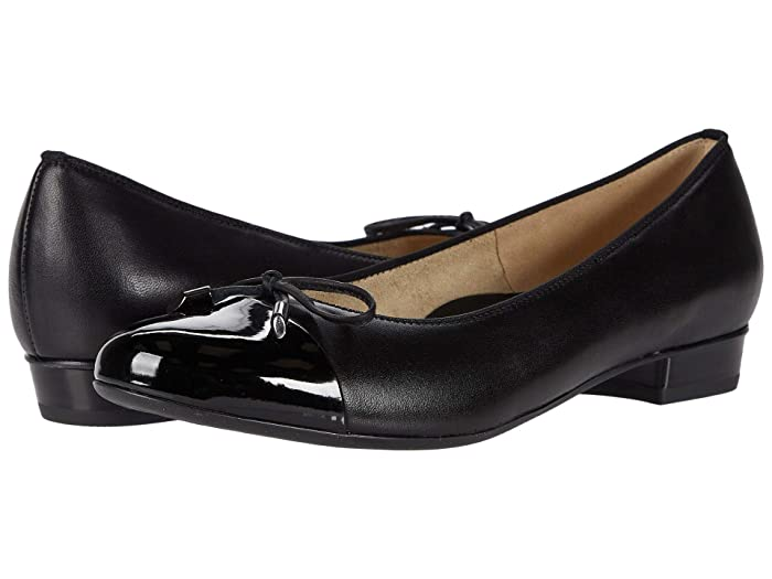 ara  Belinda (Black Lack/Nappa) Womens Shoes