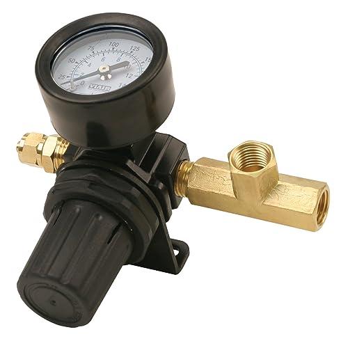 Viair 90150 0-200 PSI Air Pressure Regulator,Black