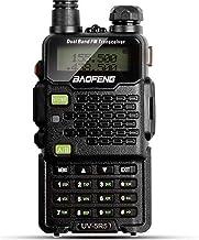 Two Way Radio, Baofeng Walkie Talkie UV-5R5 5W Dual-Band Two-Way Ham Radio Transceiver..