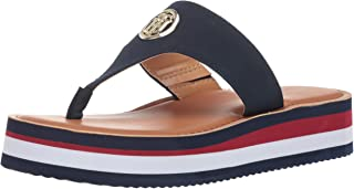 b1a8e0cf1575 Amazon.com  tommy hilfiger - Flip-Flops   Sandals  Clothing