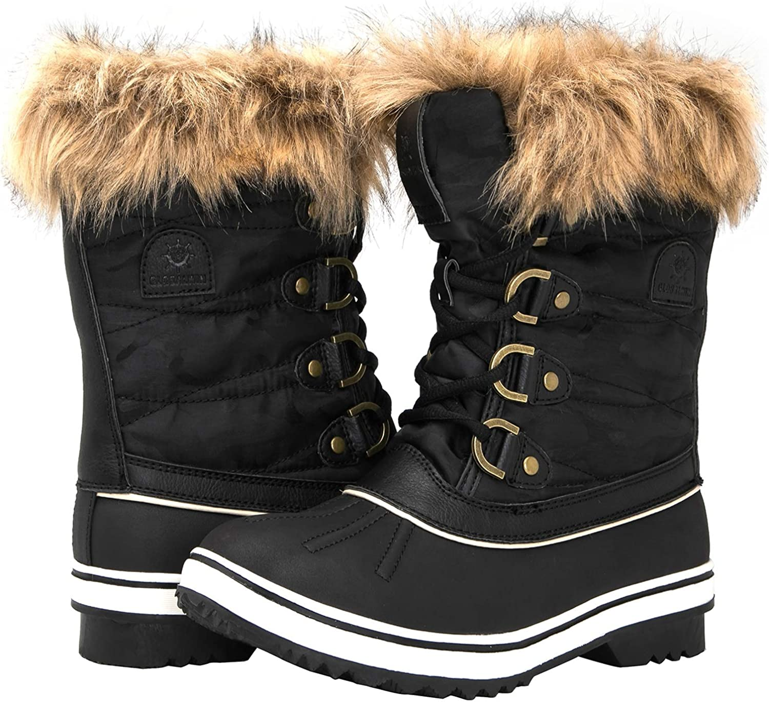 GLOBALWIN Women's 1837 Boots Snow Purchase Winter shopping