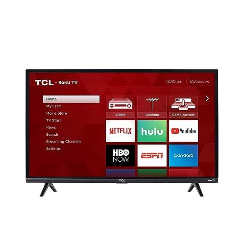 TCL 32S327 32-Inch 1080p Roku Smart LED TV (2018 Model)