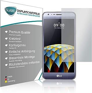 Slabo 2 x displayfolie för LG X cam displayskyddsfolie tillbehör No Reflexion MATT