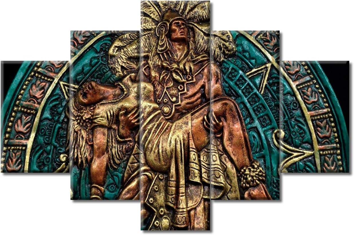 Oakland Mall TUMOVO Ancient Mexico Civilization Pictures Mayan Max 68% OFF Religion Cultu