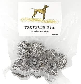 TRUFFLES USA Frozen Black Summer Truffles 7oz - Imported from Italy - Specialty food Truffles - Vegetarian - Gluten Free