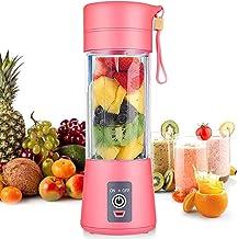 Aufell Persoonlijke mixer, draagbare sappers elektrische fruitmixer, miniblender smoothie maker mixer, USB-sapmixer, oplaa...