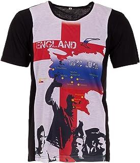 WM 2018 - Camiseta de fútbol para Hombre, diseño de la Copa del Mundo de Rusia