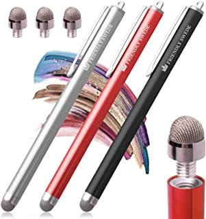 The Friendly Swede Stylus Pens for Touch Screens - Capacitive Stylus Pen for Tablets and Phone, with Replaceable Fiber Tip...