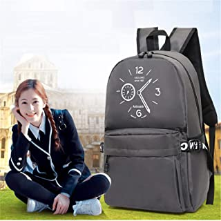 Casual Daypack,Water Resistant Lightweight Backpack,Travel Outdoor Sports College School Bags for Boys Men Women Gray