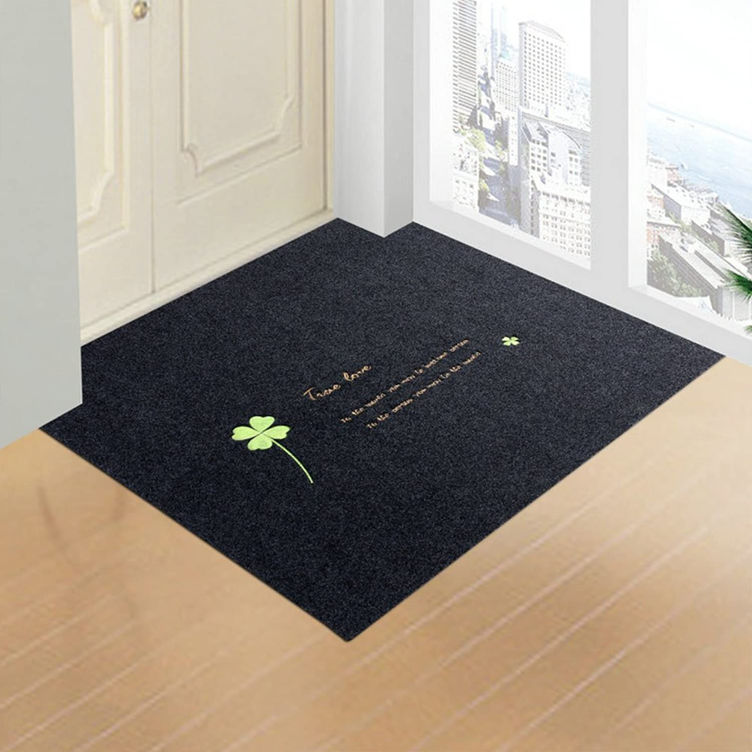 Doormats Water-Absorption Door mat Indoor mat for Bathroom Kitchen -G 100x160cm(39x63inch)