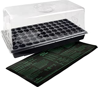 Hydrofarm CK64060 Jump Start Heat Mat, Tray, 72 Cell Insert Hot House, Black
