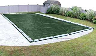 Pool Mate 371636R-PM Forest Green Winter Pool Cover for In-Ground Swimming Pools, 16 x 36-ft. In-Ground Pool