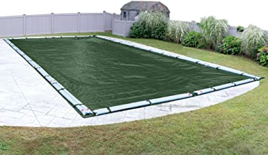 Pool Mate 372040R-PM Forest Green Winter Pool Cover for In-Ground Swimming Pools, 20 x 40-ft. In-Ground Pool