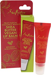 Shea Moisture Fruit Fusion Coconut Water Butter Lip Balm, 0.