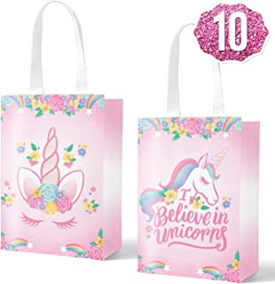 unicorn drawstring backpacks