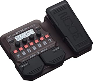 Zoom A1X FOUR Acoustic Instrument Multi-Effects Processor with Expression Pedal, Acoustic Modeling, Looper, Rhythm Section...