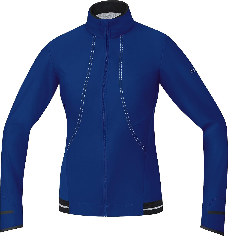 Gore Bike Wear Women's Air 2.0 Windstopper Soft Shell Jersey, Shiraz Red Hot Pink, Medium