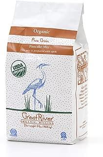 Great River Organic Milling, Pancake Mix, Five Grain, Organic, 2-Pounds (Pack of 4)