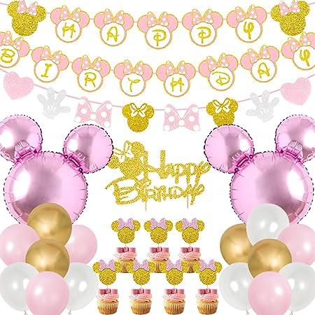 Festoon Flags Disney Minnie 2,30 M Decorations Party Birthday Girl