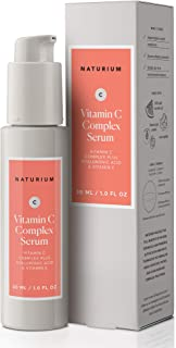 Sponsored Ad - Vitamin C Complex Face Serum - 1 oz, Facial Serum with 22% Vitamin C Complex Plus Hyaluronic Acid & Vitamin E
