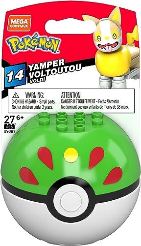 high quality Mega discount Construx Pokemon Yamper Poke Ball Building new arrival Set online sale