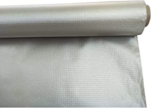 Conductive Earthing Copper Nickel Fabric for Smart Meter RF Blocking Plaid Ripstop Type 43