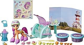 My Little Pony: A New Generation Smoothie Shop Sunny Starscout Storyscene-speelgoed met speelmassa, 25 accessoires, 7,5 cm...