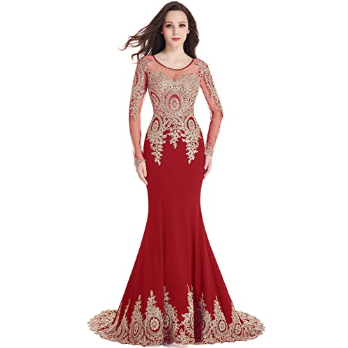Red And Gold Prom Dresses Ball Gown Amazoncom
