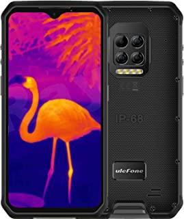 Ulefone Armor 9 Rugged Phones Unlocked, 64MP Thermal Imaging Scanner Camera IP68 Waterproof Rugged Cell Phones,8GB+128GB, ...