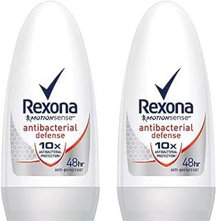 Rexona レクソナ 制汗 デオドラント ロールオン antibacterial defense アンチバクテリアル ディフェンス50ml 2個 [並行輸入品]