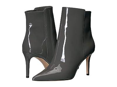 J.Crew Patent Lana Ankle Boot (Raincloud Grey) Women