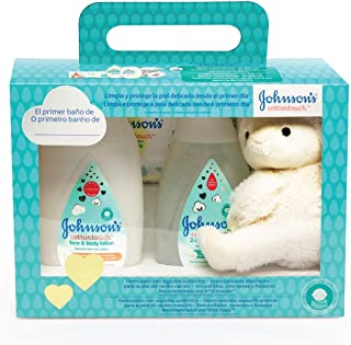 johnson's Baby Set Cotton Touch Gel De Baño 300 ml + Loció