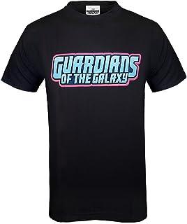 Marvel - Guardianes de la galaxia - Camiseta oficial para hombre - Rocket, Groot