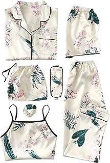 SheIn Women's Sexy Lace Halter Sleep Romper Sleepwear Nightwear