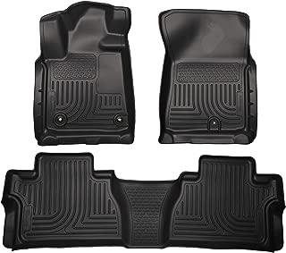 Husky Liners 99581 Black Combo Set Fits 2014-19 Toyota Tundra CrewMax